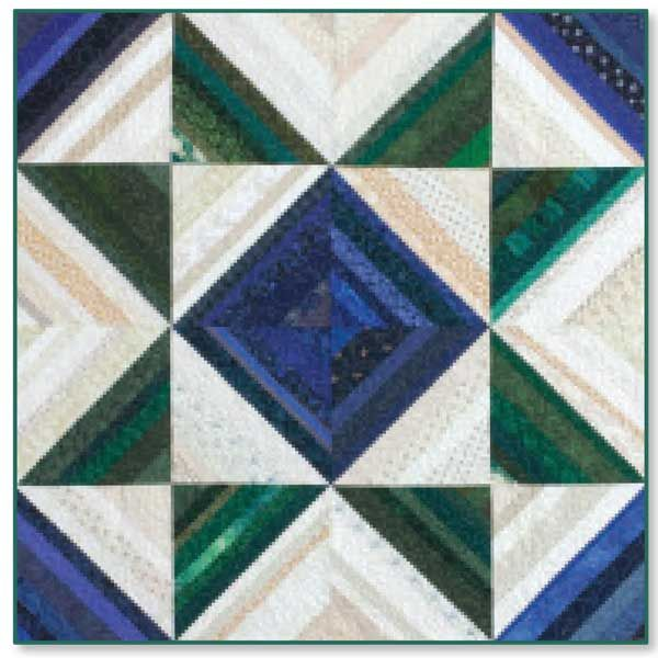 SUPER STRINGS FREE Wall quilt pattern Designed by MOLLY