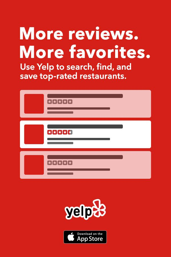 You rely on reviews for food, so why not for everything