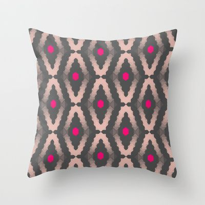 Diamond Throw Pillow by Babiole Design - $20.00