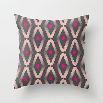 Diamond Throw Pillow by Babiole Design - $20.00