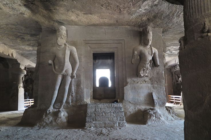 Elephanta Island about 45 minutes from Mumbai. Spectacular carvings in caves
