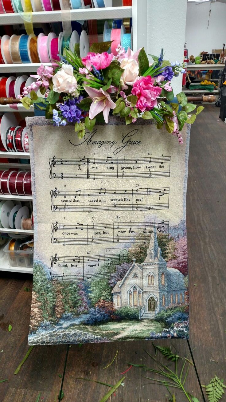 7 best funeral flowers other images on pinterest tapestry on easel with floral swag 8500 izmirmasajfo