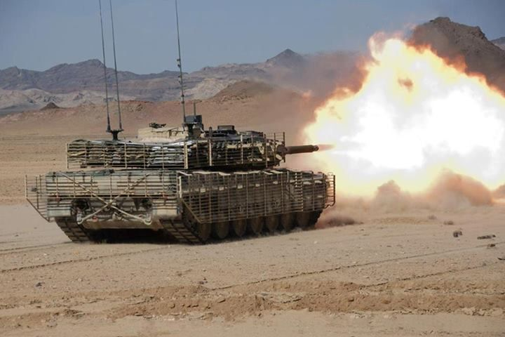 ARMY Leopard2A6 in Afghanistan from Canadian army