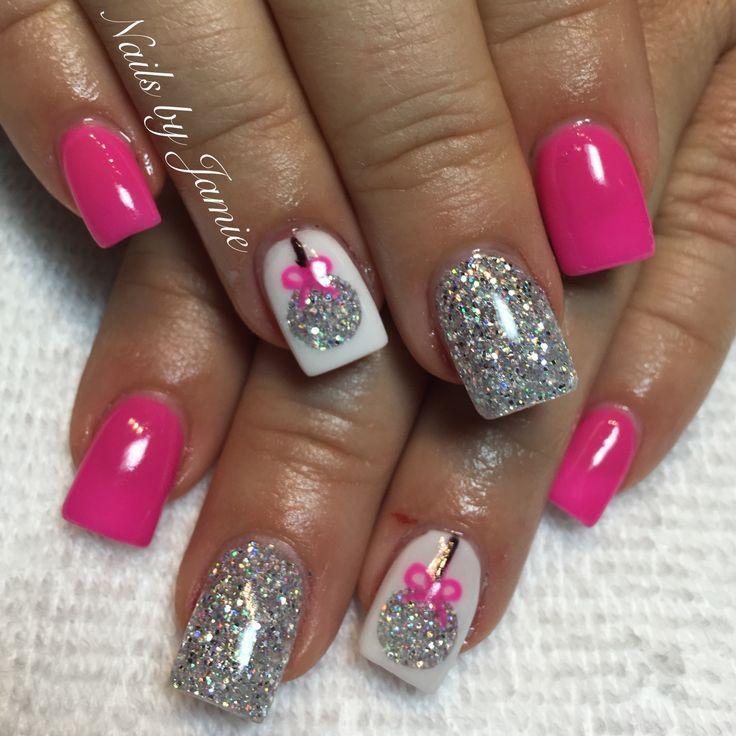 25+ gorgeous Christmas nail designs ideas on Pinterest ...