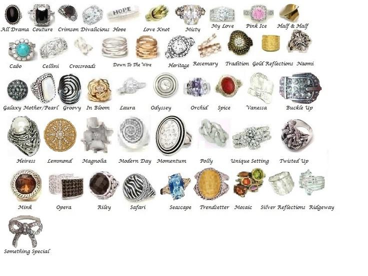 Premier Designs Jewelry Retired Rings