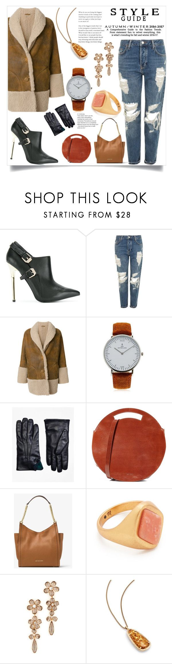"""""""All about Style"""" by justinallison ❤ liked on Polyvore featuring Versace, Topshop, M.i.h Jeans, Kapten & Son, Brooks Brothers, VereVerto, MICHAEL Michael Kors, Madewell, Kate Spade and Kendra Scott"""