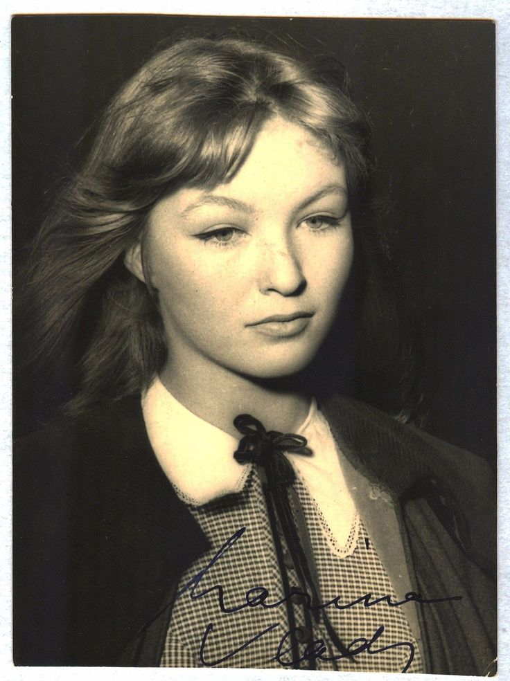 Marina Vlady Original Autograph Autographe Hand Signed Photo Postcard RARE 1 | eBay