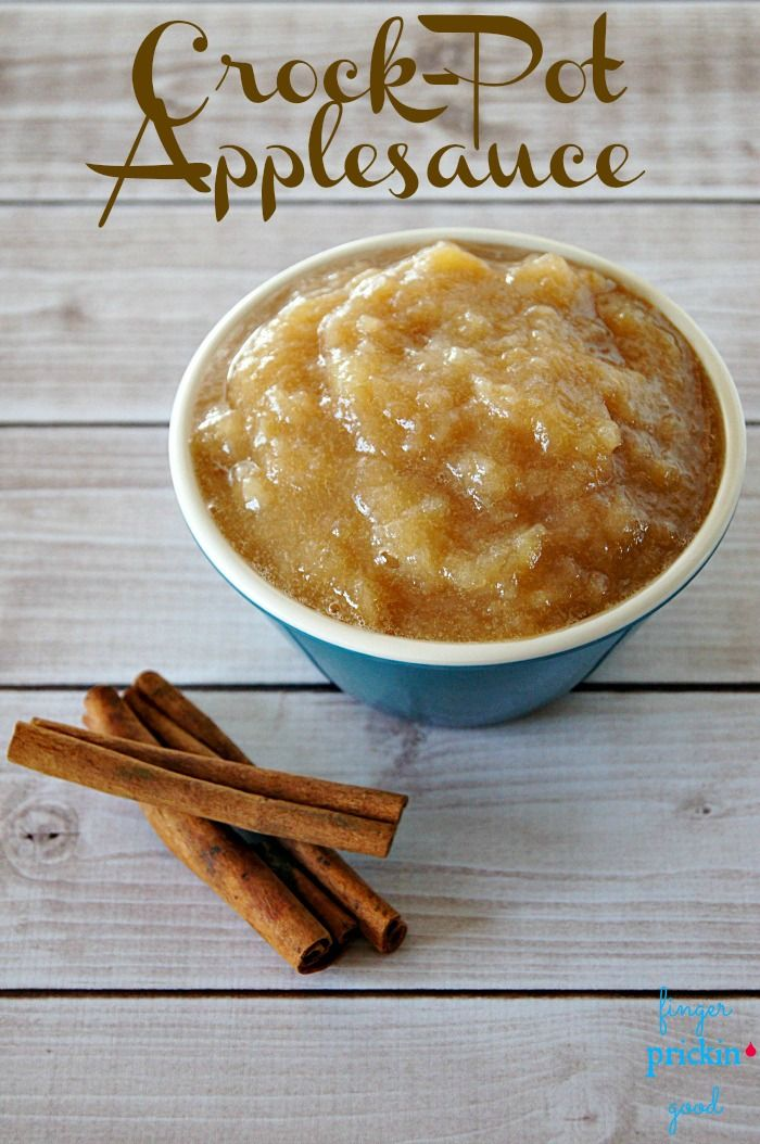 Crock-Pot Applesauce {Low Carb} {Diabetic Friendly}