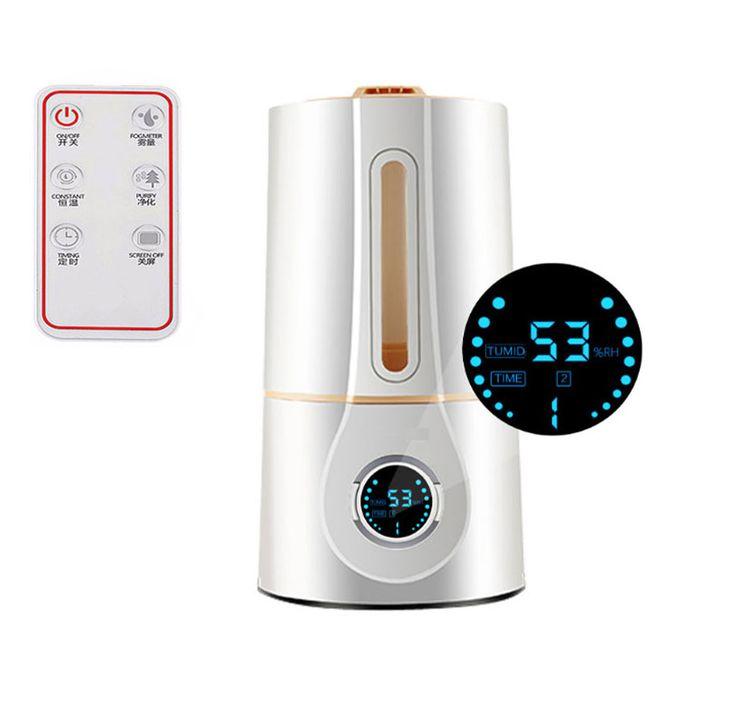 Ultrasonic Humidifier Aroma Diffuser Nebulizer Mute Home Air Humidifier Mini Ultrasonic Sterilization Oxygen Bar, Aromatherapy
