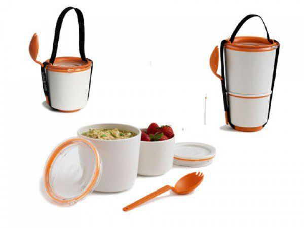The Grommet team discovers divided lunch containers by Black + Blum. Their modern take on an adult lunch box is perfect for salads, sushi, leftovers and more.