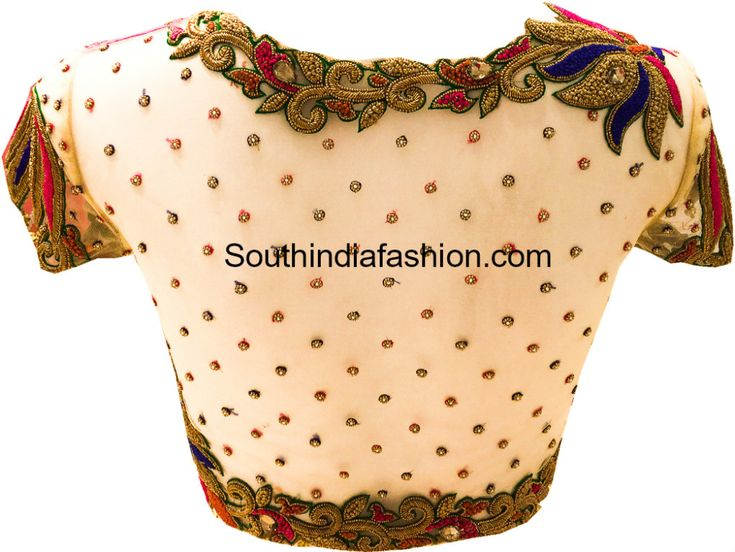 NETTED-BLOUSE-FOR-SILK-SAREES.jpg 999×750 pixels