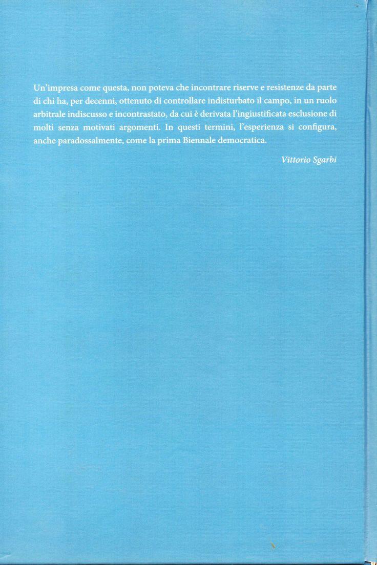 54 Esposizione Internazionale D'Arte della Biennale di Venezia - Padiglione Italia - LO STATO DELL'ARTE a cura di  Vittorio Sgarbi -Catalogo