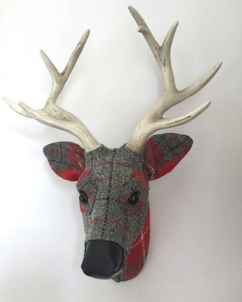 April Barrie, Xander, Textile Taxidermy | Scottish Contemporary Art
