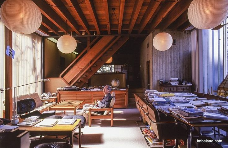 """Prize of AIJ for Design 1955 """"A series of housing"""" Kiyoshi Seike, Tokyo Institute of Technology"""