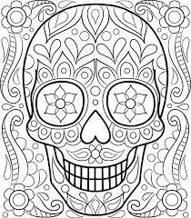 Resultado de imagen para figuras de cráneos para colorear