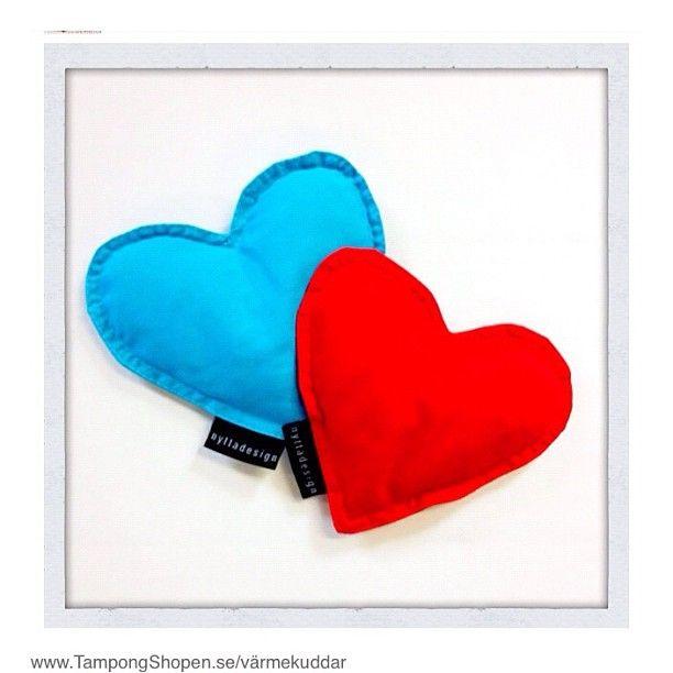 #Värmekuddar från http://www.TampongShopen.se #Hjärta dig! Ps... Bra #julklappstips!  | Photo from the Instacanvas gallery of webrose.