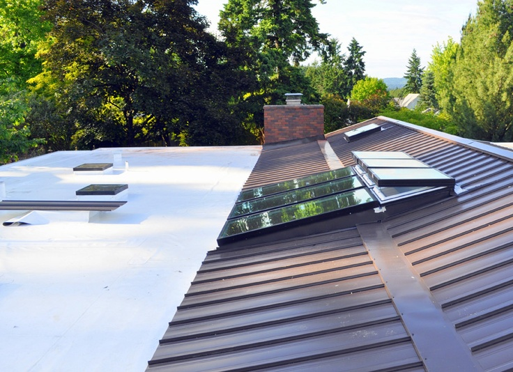 10 best types of roofing systems images on pinterest for Different types of roofing systems