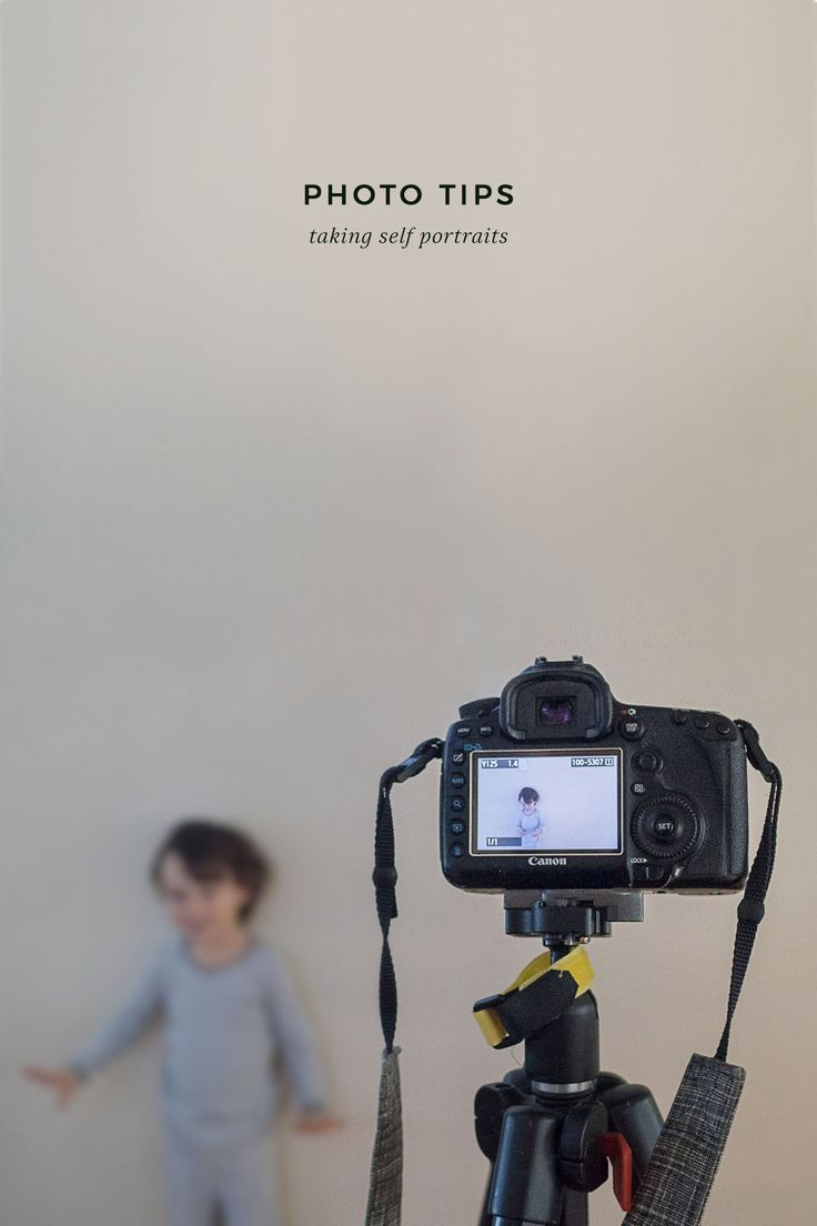 Photo Tips Series - How to take self-portraits (not selfies!). Perfect for DIY holiday photos!