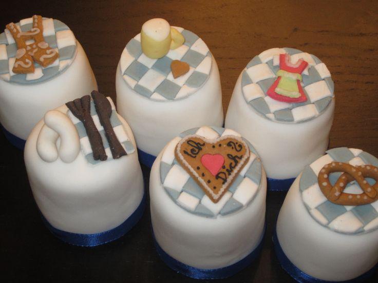 "Cupcakes ""Tracht"""