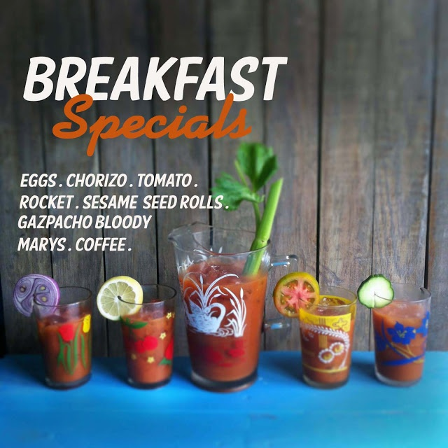 Eat, drink and make pretty - gazpacho bloody Mary