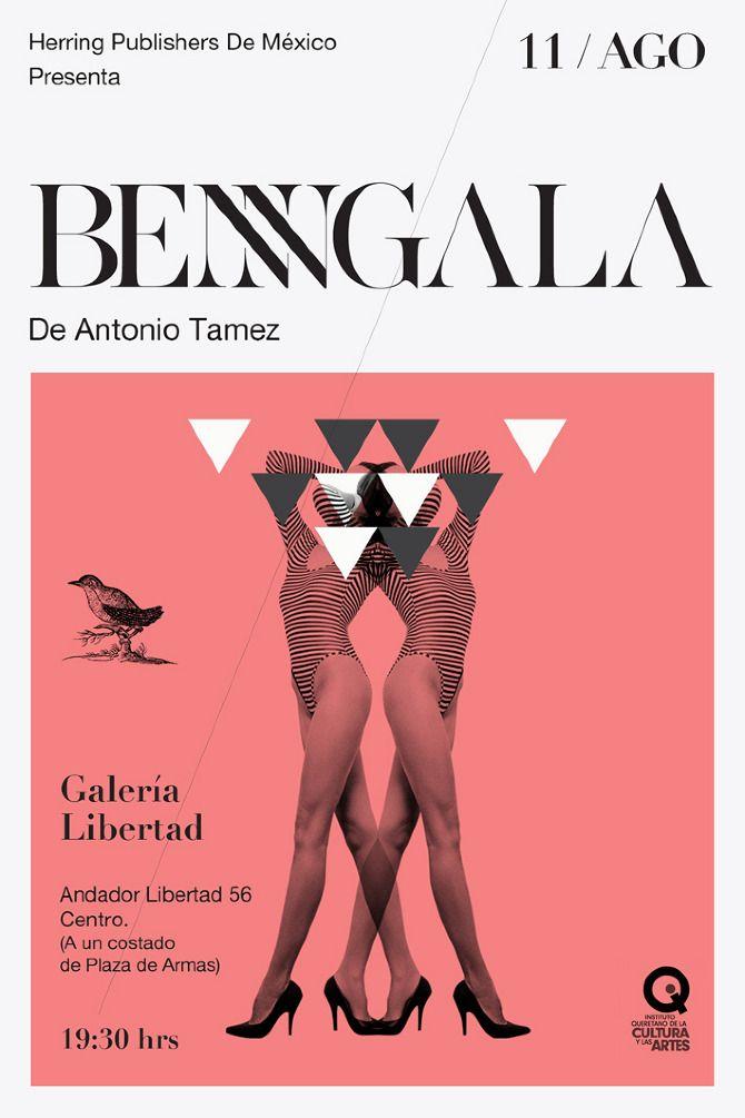 Bengala - nGrafik Art Art director Poster Artwork Visual Graphic Mixer Composition Communication Typographic Work Digital  Japanese