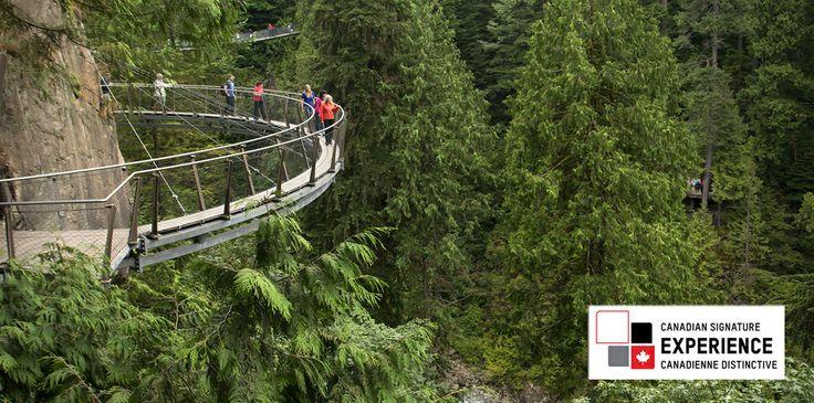 Vancouver Activities |Cliffwalk | Capilano Suspension Bridge Park