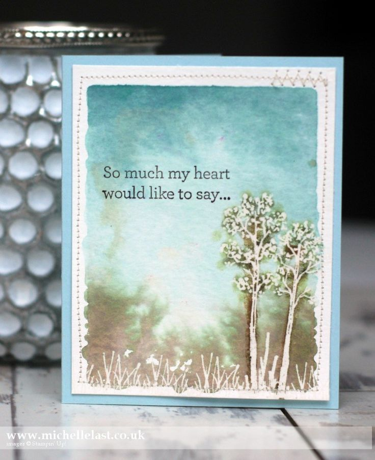 In the Meadow from the NEW Seasonal Catalogue from Stampin' Up! - with Michelle Last