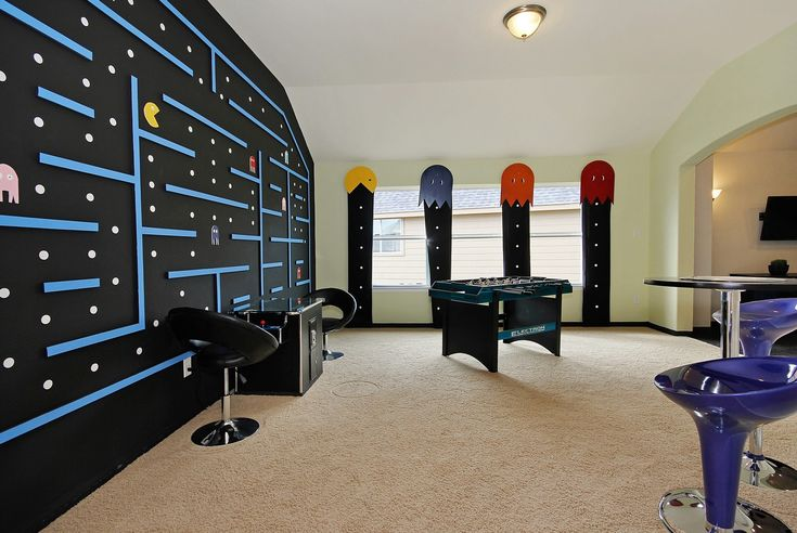 Rooms: 669 Best Images About Gaming And Video Game Rooms On