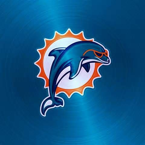22 best nfl logos images on pinterest sports logos - Pink dolphin logo wallpaper ...