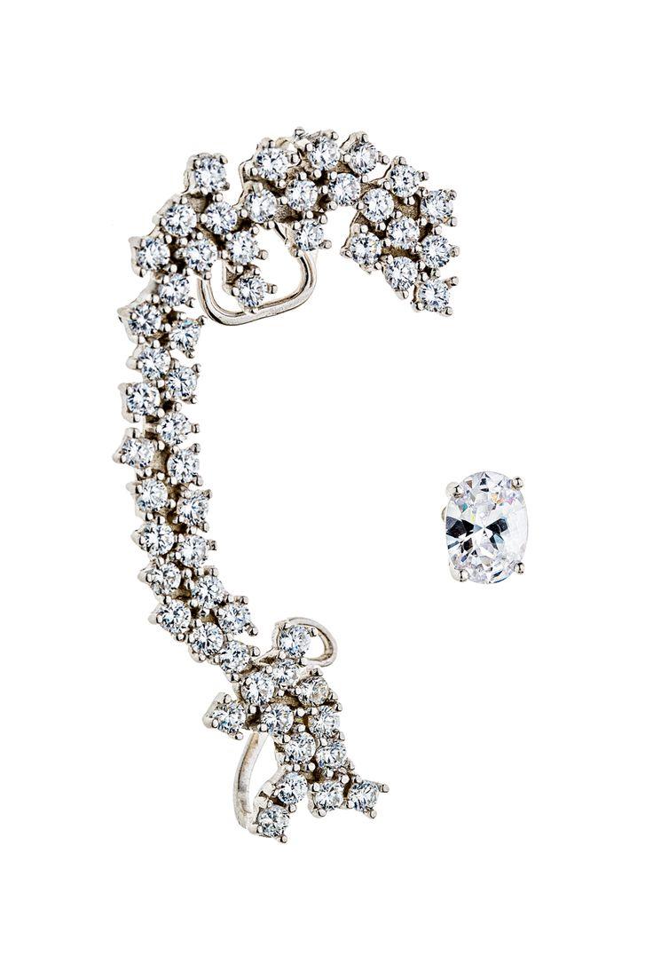 Σκουλαρίκι Sparkling Lady #jewelry, #gold, #sparkling, #lady, #earrings, #pearl, #necklace, #kritsimisjewellery, #kritsimis, kritsimis.gr, seekforgold.com