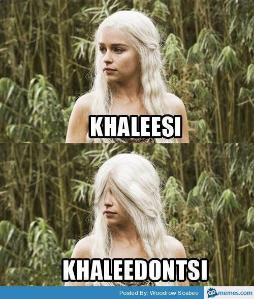 GOT game of thrones khaleesi khaleedontsi hair