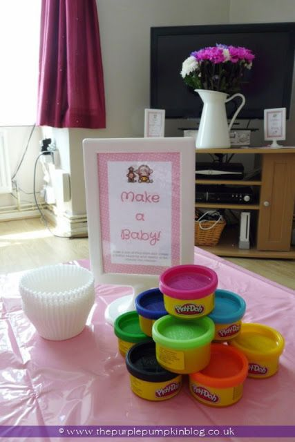 Make A Baby Game For A Baby Shower At The Purple Pumpkin Blog