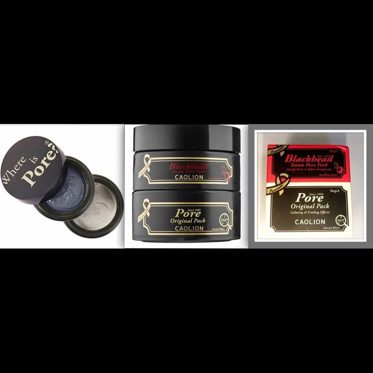 Caolion Premium Hot Amp Cool Pore Pack Duo Full Size Retail$30 | eBay