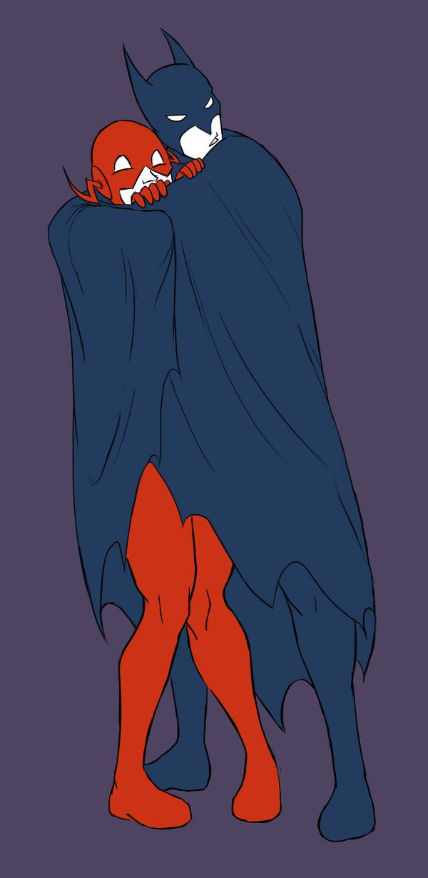 DCU - Bruce Wayne x Wally West - BatFlash