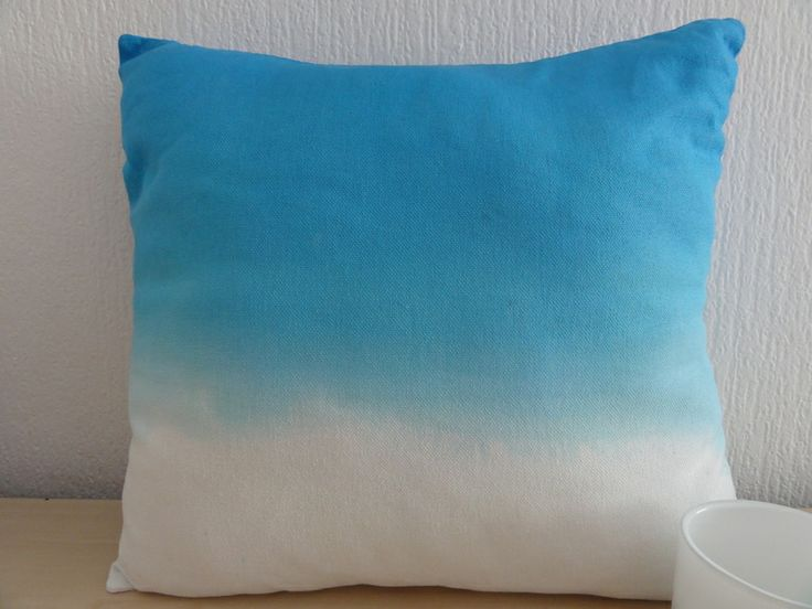 Kissenhüllen-Set ♥ in Batik Muster blau ♥♥ von Ideenpurzelbäume  auf DaWanda.com