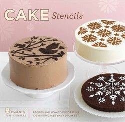Cake Stencils. I love these easy to use and pretty stencils for using on cakes and cupcakes. A great way to to make a simple cake look fancy!