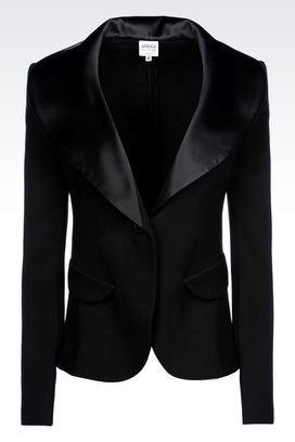 Armani Collezioni Women Jackets at Armani Collezioni Online Store