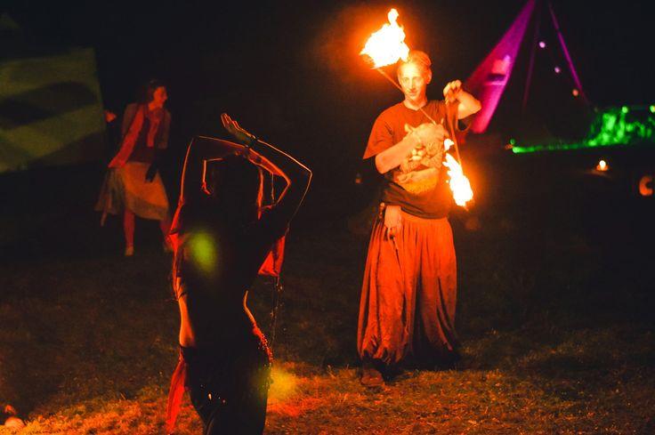ZenMamma  dancing at Transylvania Calling