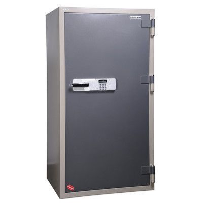Hollon Safe 2 Hr Fireproof Electronic Lock Commercial Drawer Office Safe Size: 13.76 CuFt