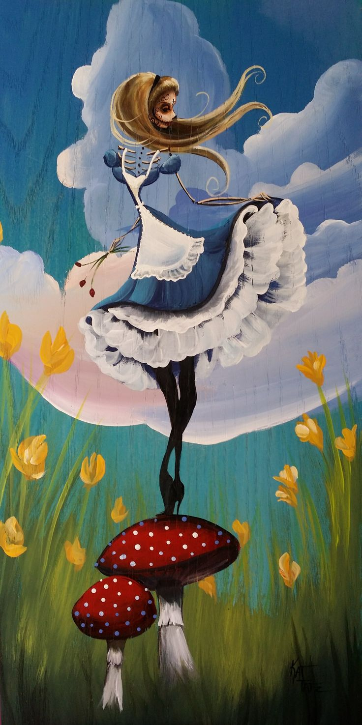 ALICE IN WONDERLAND ON THE LOOK OUT BY KAT TATZ