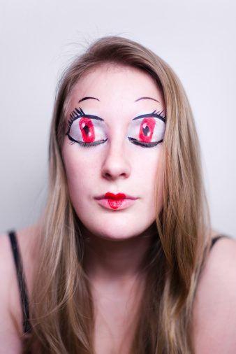 simple halloween makeup looks