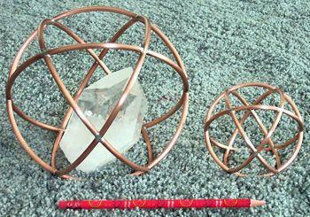 Heliospheres™ (Genesa) Clear Negative Environmentall, Personal Energy