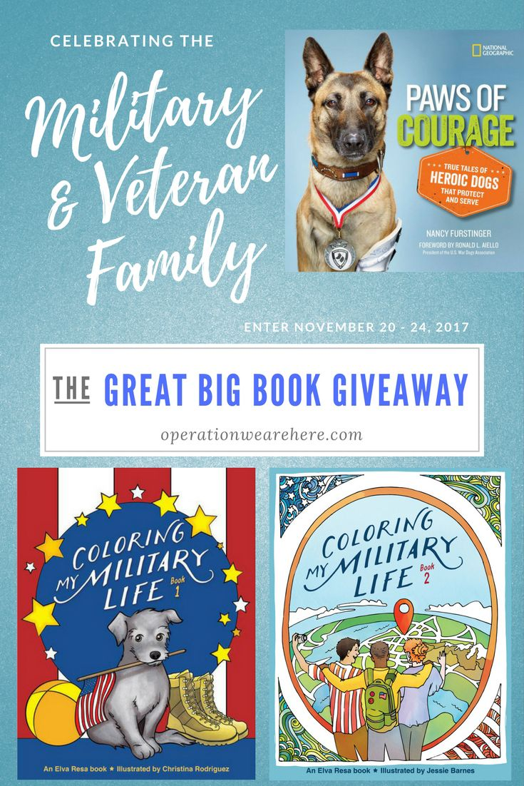 Operation We Are Here Book Giveaway For Military Families Veteran