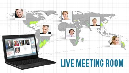 6. Live Meeting Room  As you team grows exponentially and globally, you will find that your PureLeverage recruiting and live meeting room will be one of the most powerful tools in your arsenal. This amazing system allows you to communicate in real time audio and video, conduct presentations, share your desktop or files with all your attendees.