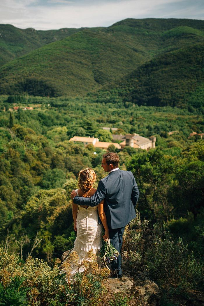 small intimate weddings southern california%0A Marianne and Luke u    s Fun and Rustic Countryside Wedding in Southern France