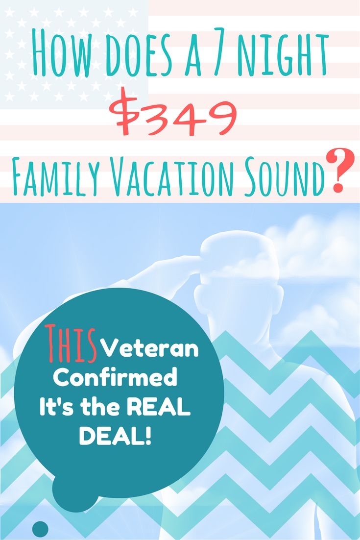 Vacation deals for military