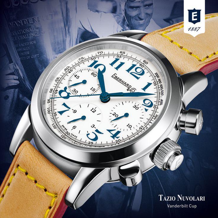 Tazio Nuvolari Vanderbilt Cup by Eberhard & Co. www.eberhard-co-watches.ch