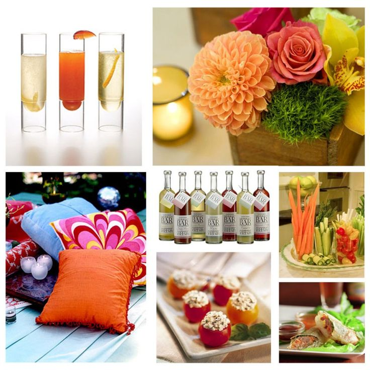 COCKTAIL PARTY PICTURES AND FOOD DISPLAY IDEAS FOR HOME PARTIES
