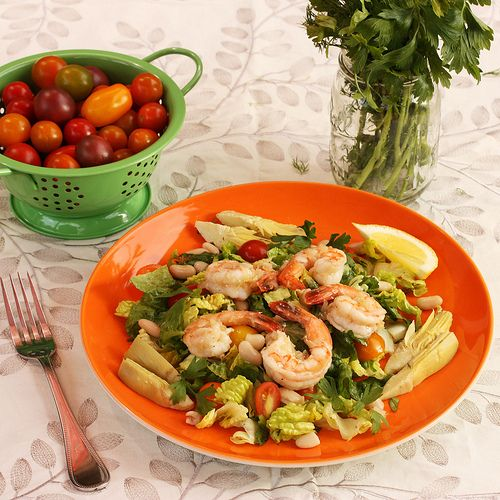 A Recipe for Mediterranean Shrimp Marsala Salad AND a Giveaway for a 6-Quart Programmable Crock-Pot