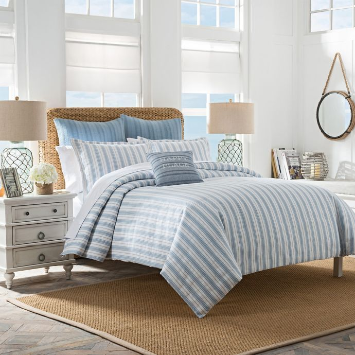 Coastal Life South Port Stripe Duvet Cover Bed Bath Beyond